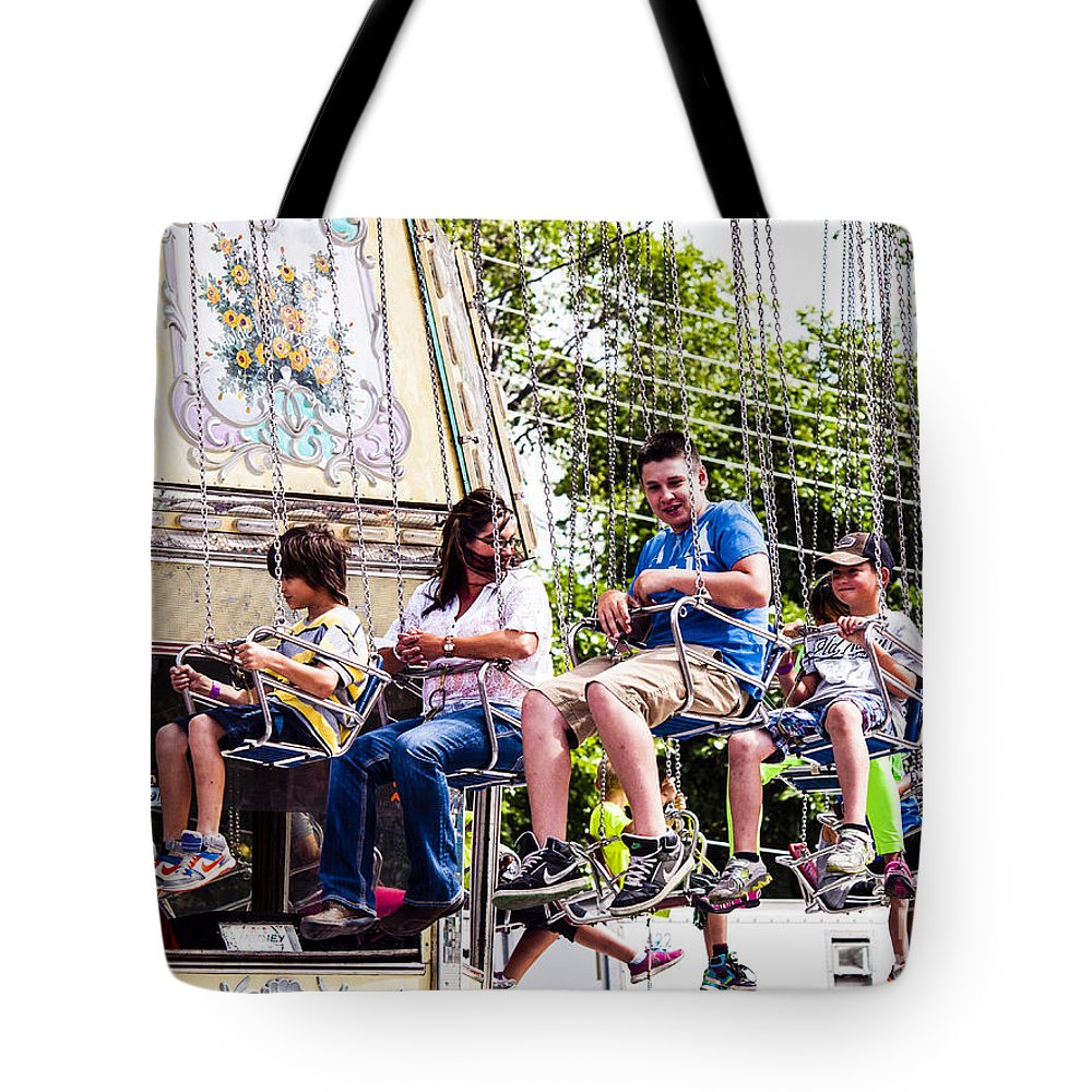 What A Ride Tote Bag featuring the photograph Summer-9 by David Fabian