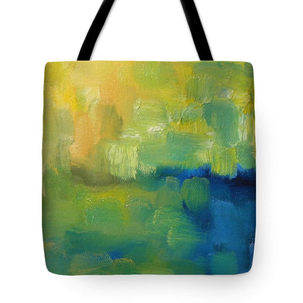 Abstract Tote Bag featuring the painting Summer by Lord Frederick Lyle Morris - Disabled Veteran