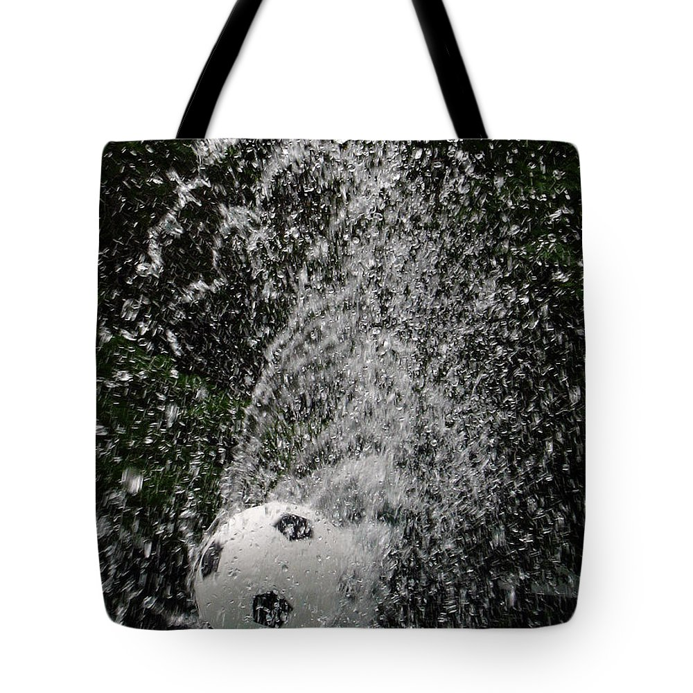 Soccer Tote Bag featuring the photograph Summer Fun by Darleen Stry