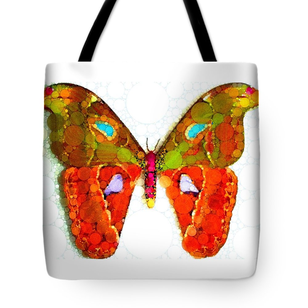 Gorgeous Butterfly Tote Bag featuring the digital art Summer Love by Steven Boland