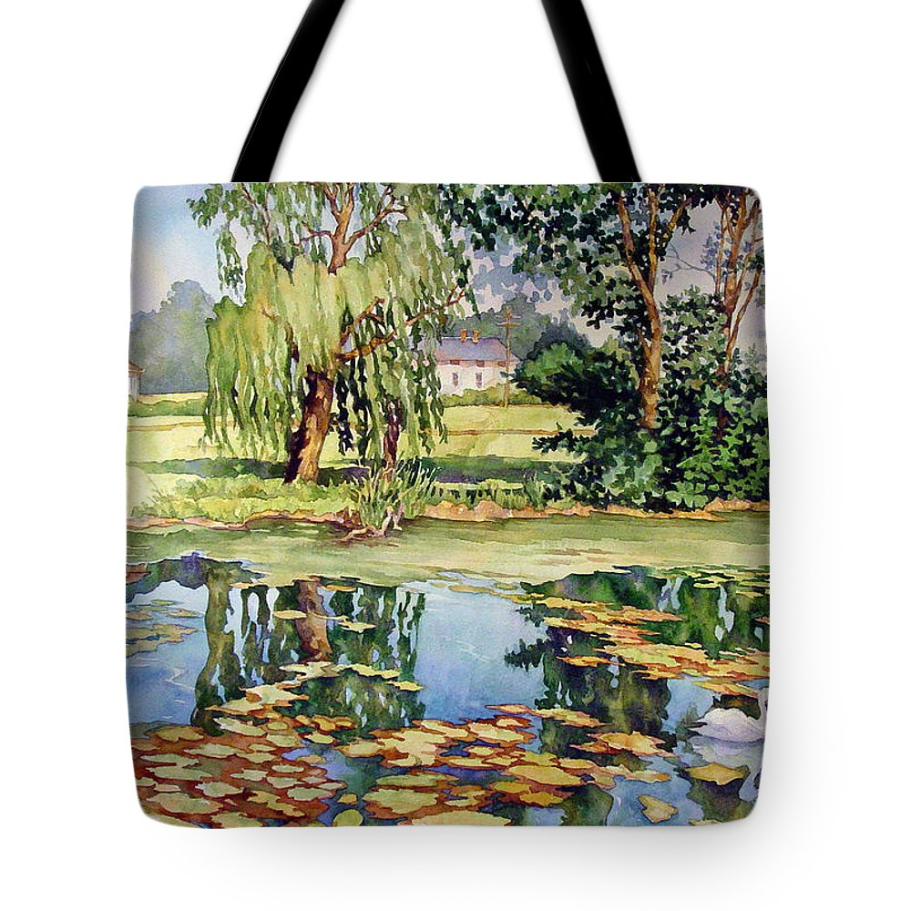 Swan Boats Tote Bags