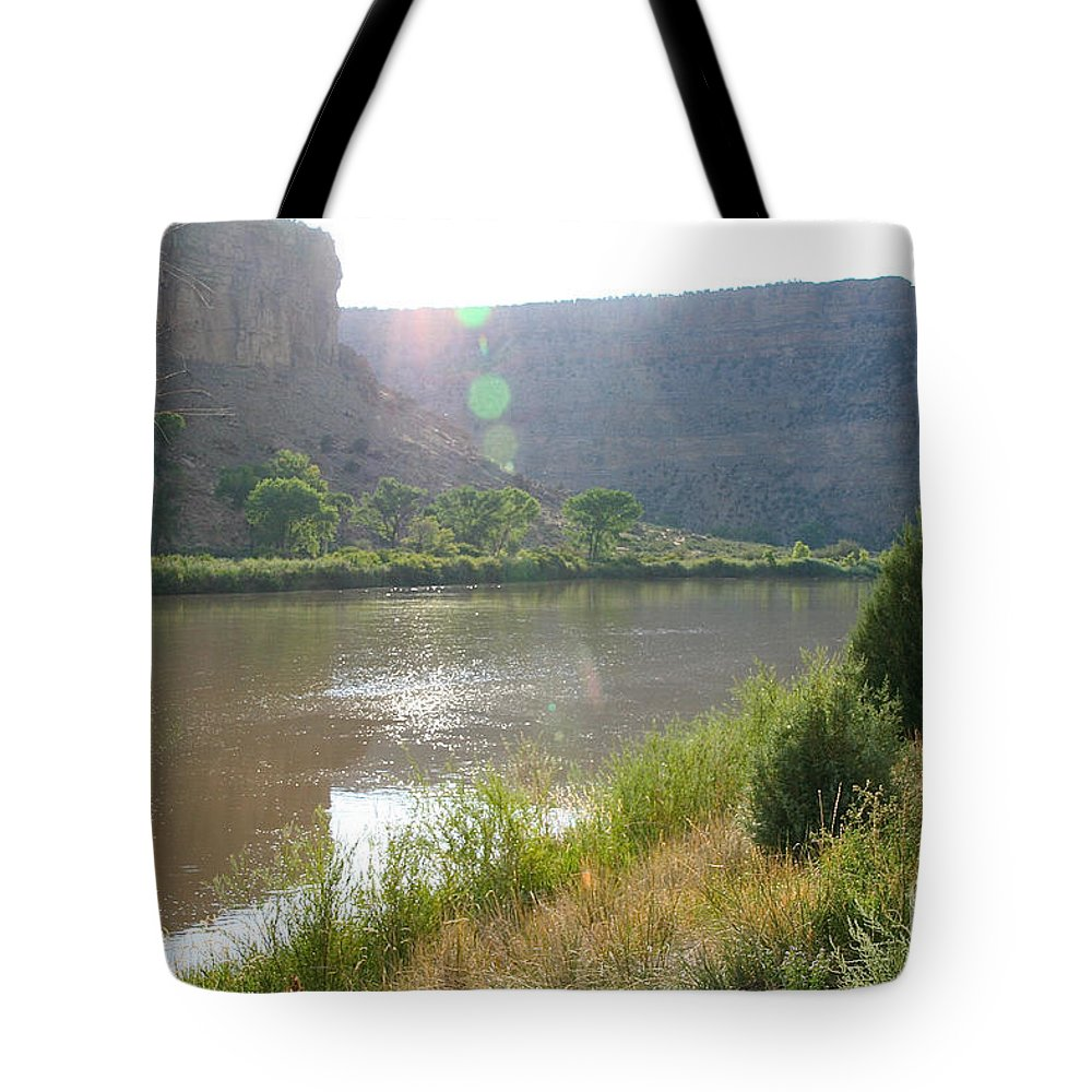 Outdoors Tote Bag featuring the photograph Summer Solitude by Susan Herber