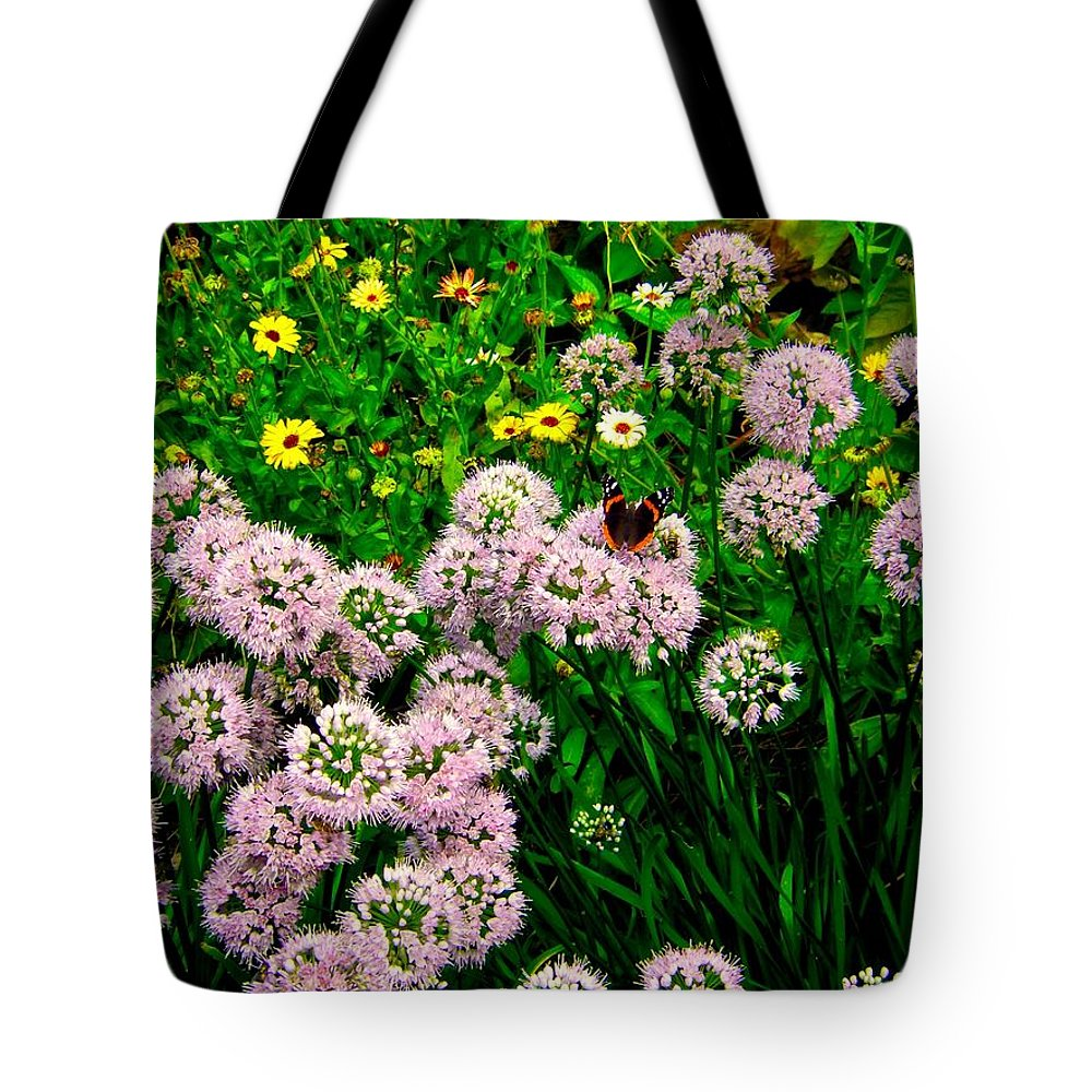 Flower Tote Bag featuring the photograph Summer Song by Zafer Gurel