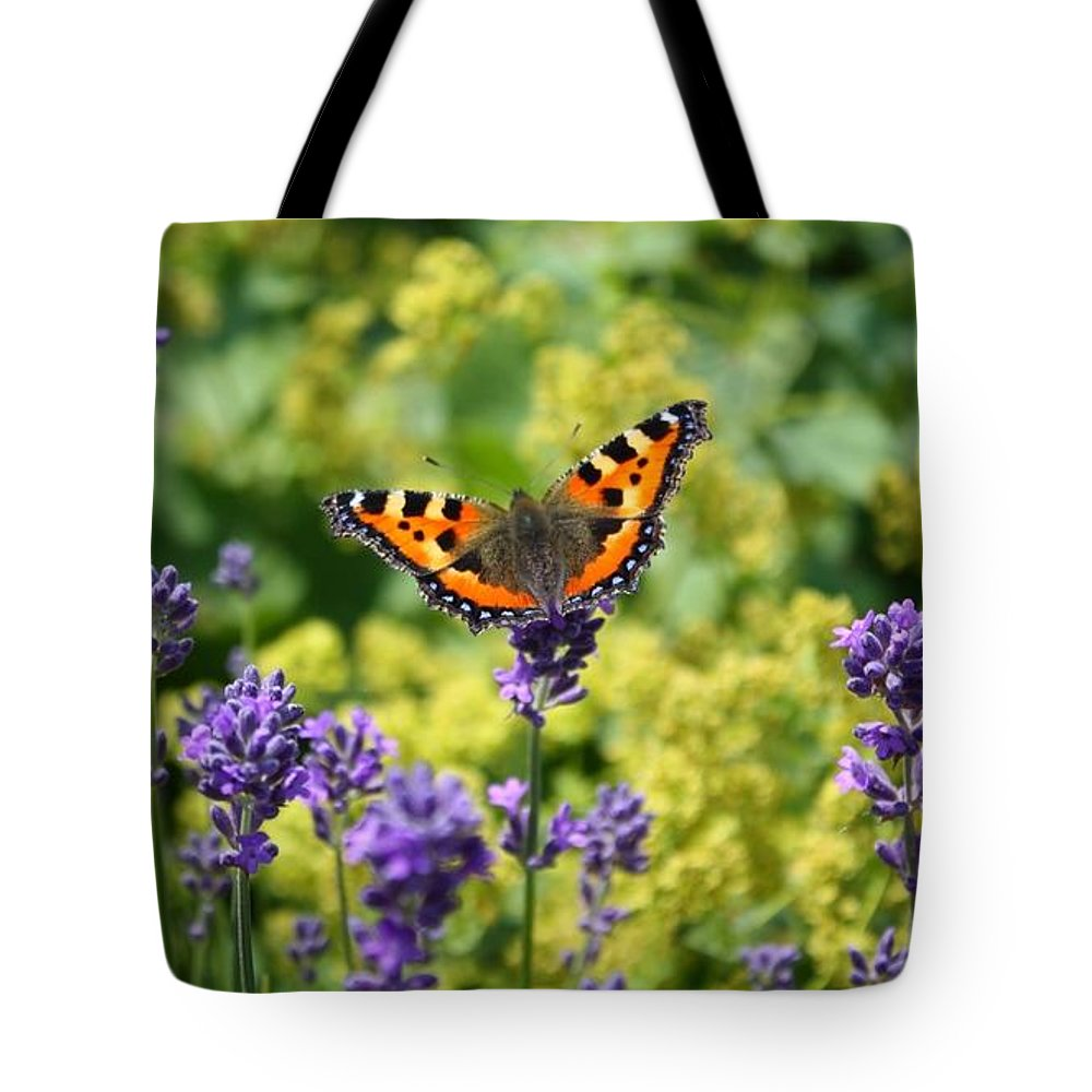 Butterfly Tote Bag featuring the photograph Summer Touch by Carol Groenen