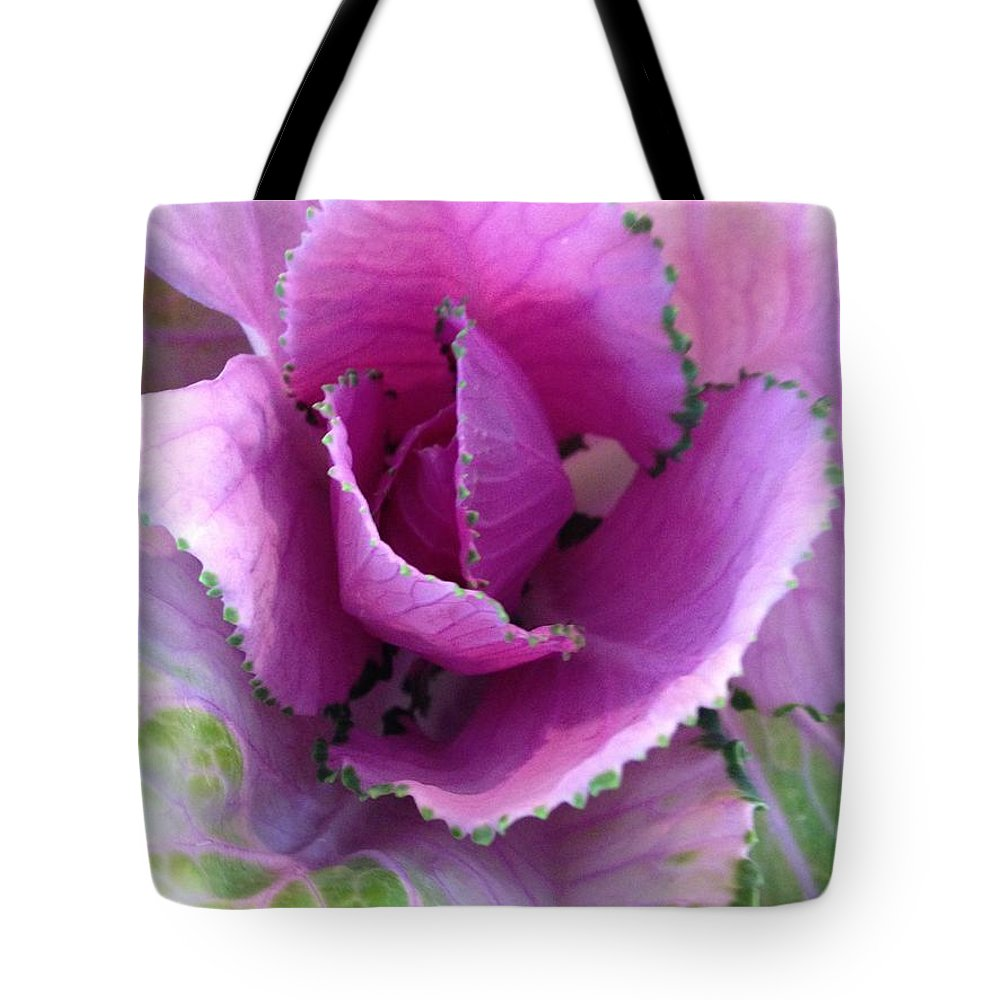 Cabbage Tote Bag featuring the photograph Summer's Cabbage Patch by Marian Palucci-Lonzetta