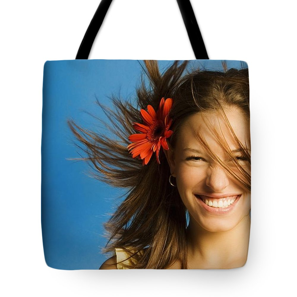Blow Tote Bag featuring the photograph Summery Model by Patrick Kociniak