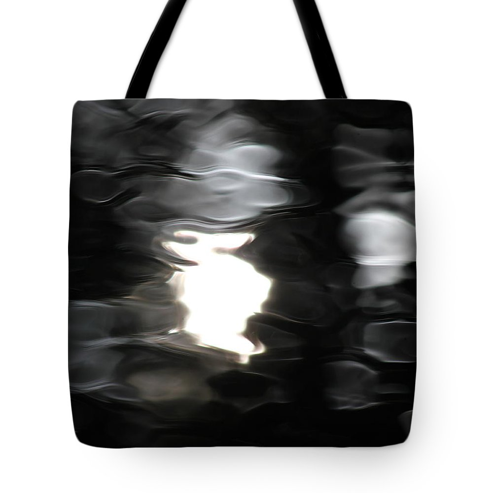 Water Tote Bag featuring the photograph Sun And Water by Penny Meyers