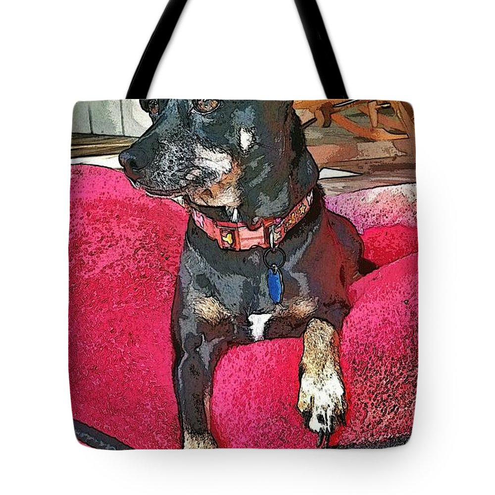 Dog Tote Bag featuring the photograph Sun Day by John Duplantis
