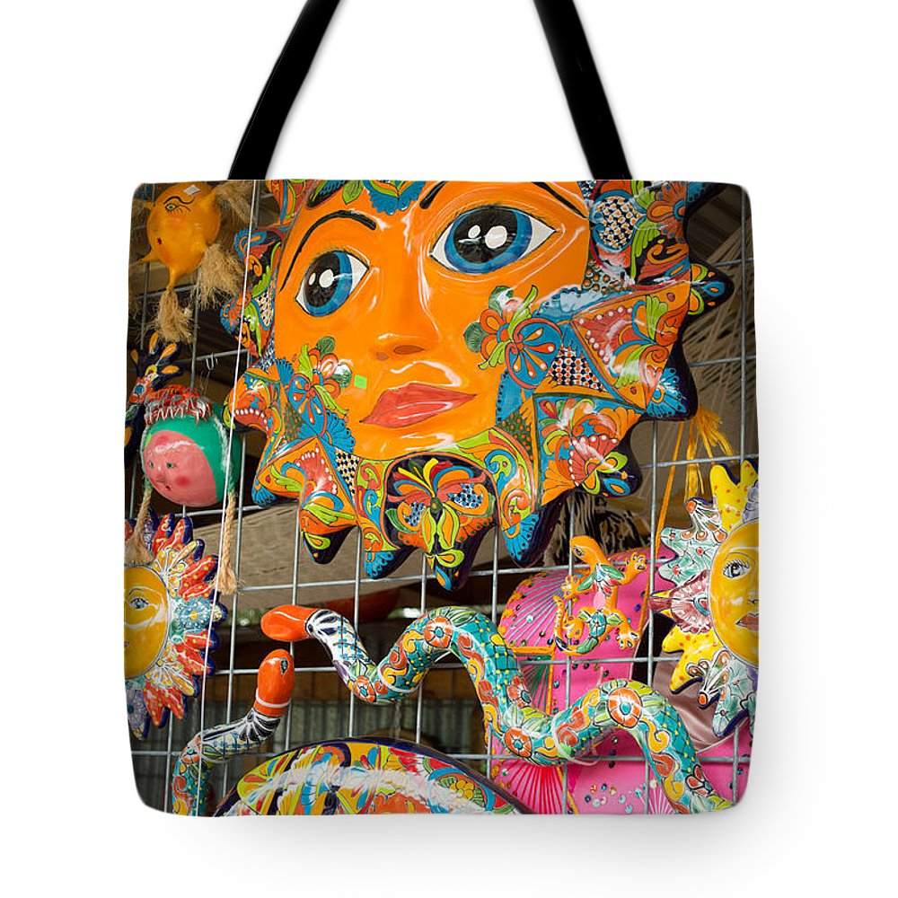 Texas Tote Bag featuring the photograph Wimberley Texas Sun Goddess And Her Court by JG Thompson