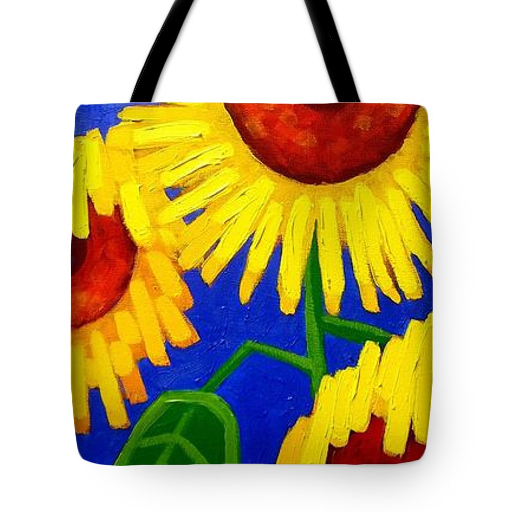 Ireland Tote Bag featuring the painting Sun Lovers by John Nolan