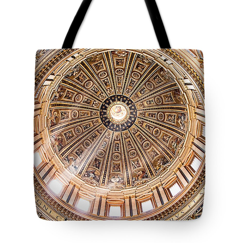 Peter Tote Bag featuring the photograph Sun Rays Through The Dome by Weston Westmoreland