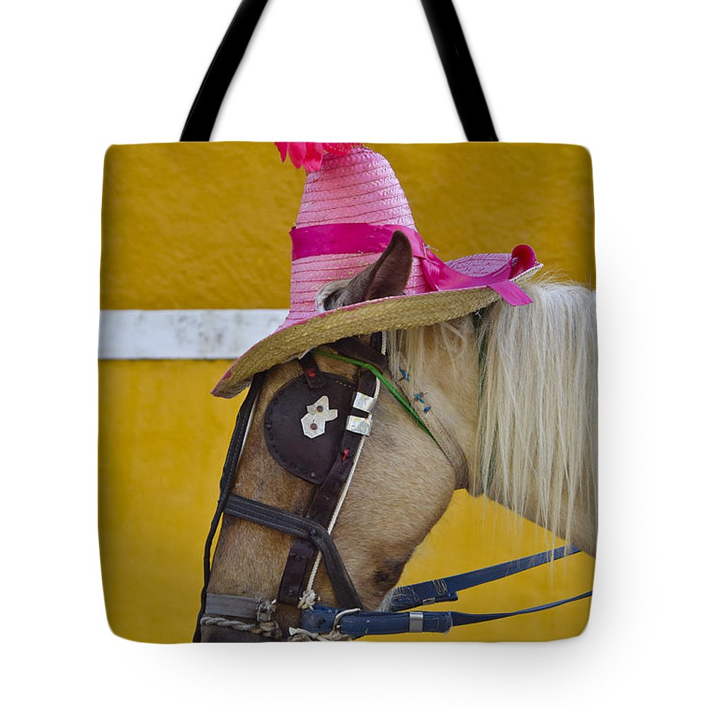 Sunday Bonnet Tote Bag featuring the photograph Sunday Bonnet by Skip Hunt