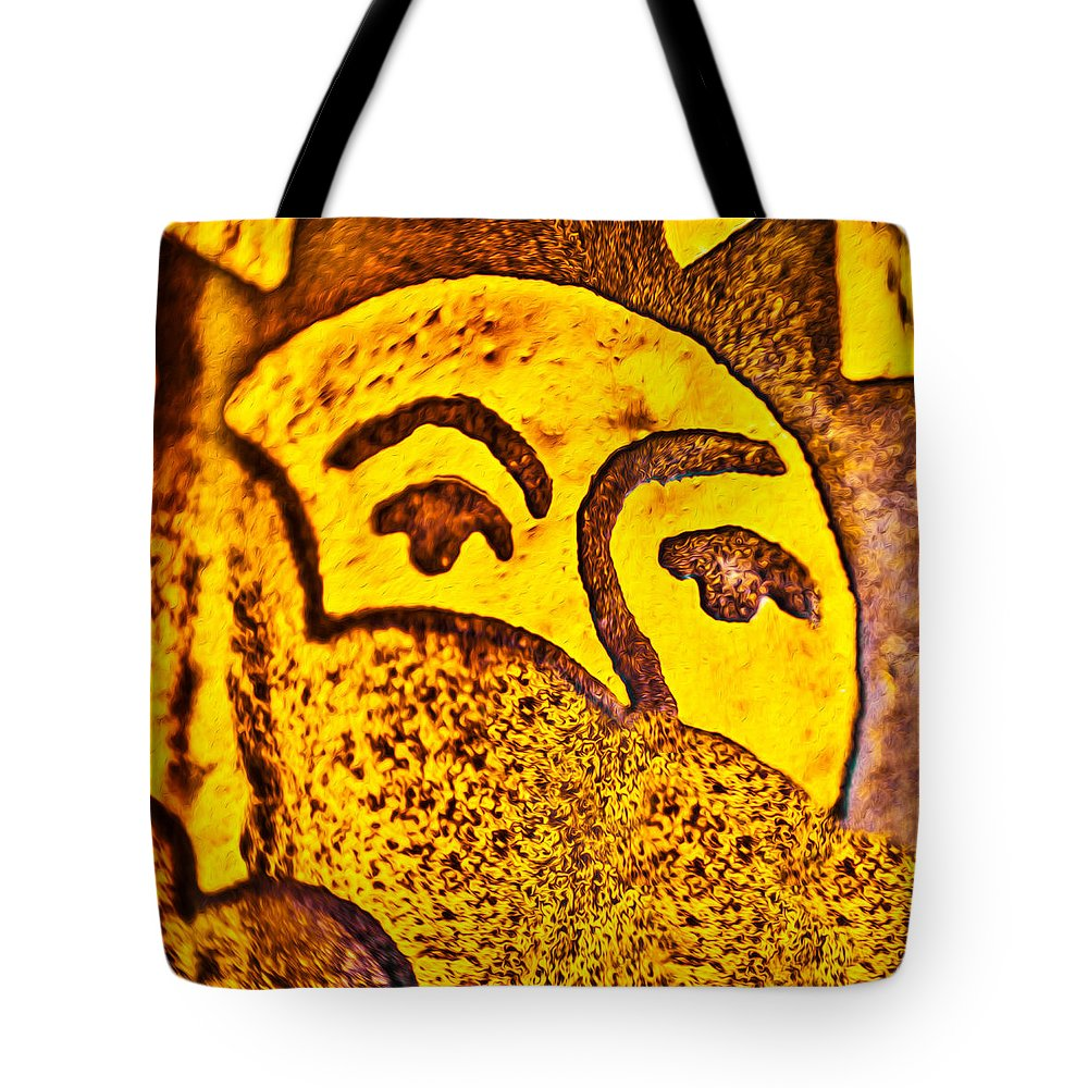 Sunday Morning Tote Bag featuring the painting Sunday Morning by Omaste Witkowski