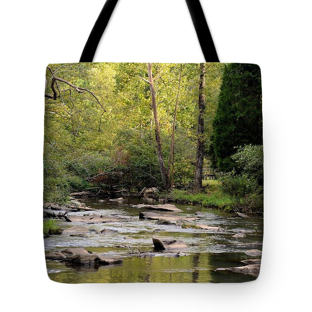 Sundown Tote Bag featuring the photograph Sundown In September 2012 by Maria Urso