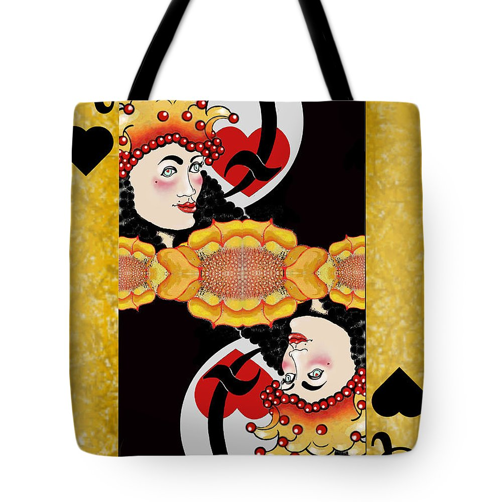 Valentine Tote Bag featuring the painting Sunflower Card Yellow by Carol Jacobs