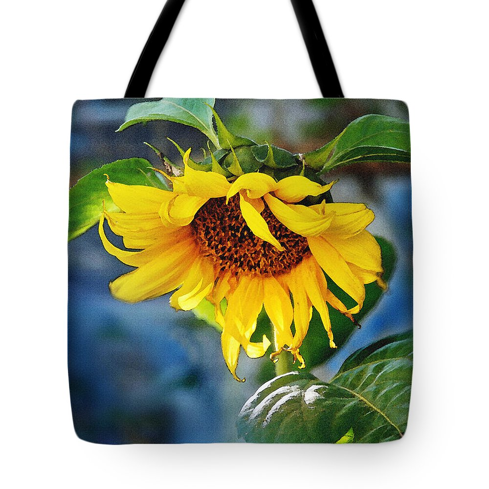 Roses Tote Bag featuring the Sunflower Magic I by Jeff McJunkin