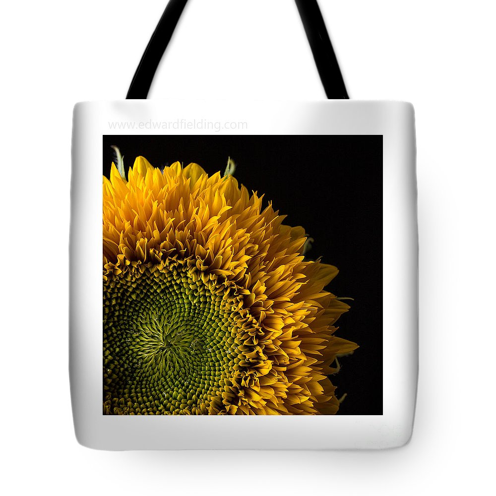 Flower Tote Bag featuring the photograph Sunflower Original Signed Mini by Edward Fielding