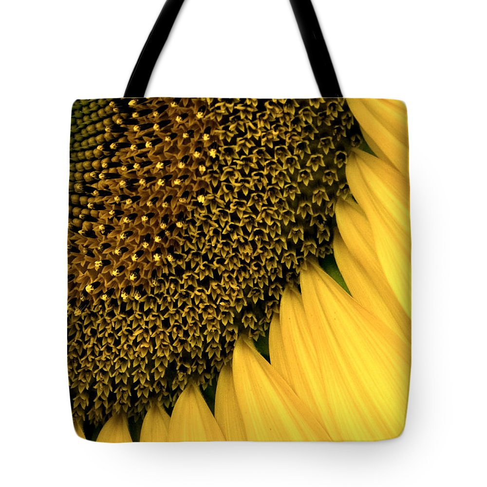 Agriculture Tote Bag featuring the photograph Sunflowers Of Summer by Sharon Meyer