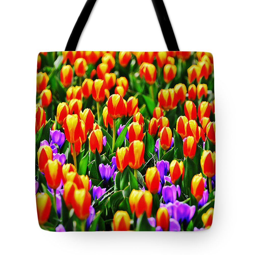 Travel Tote Bag featuring the photograph Sunrise And Lavendar by Elvis Vaughn