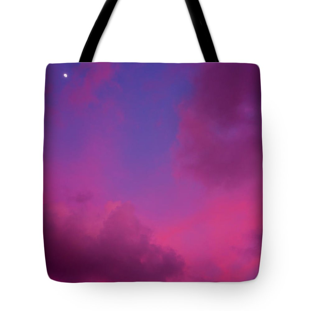 Easter Island Tote Bag featuring the photograph Sunrise And Moon by Kent Nancollas