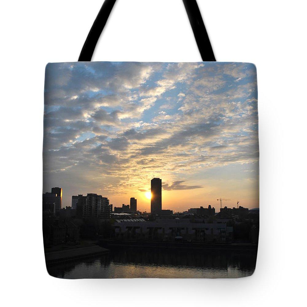 Sunrise Tote Bag featuring the photograph Sunrise Arise Buffalo Ny V1 by Michael Frank Jr
