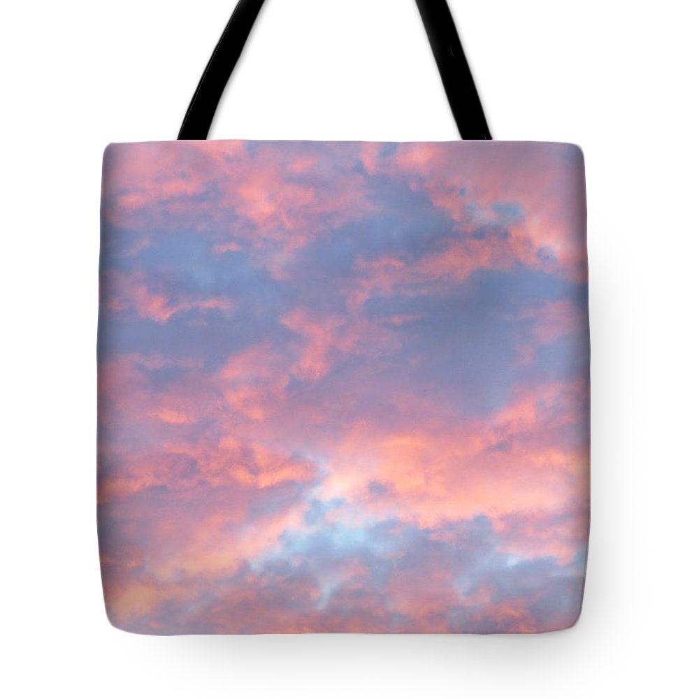 Clouds Tote Bag featuring the photograph Sunrise Clouds by MTBobbins Photography