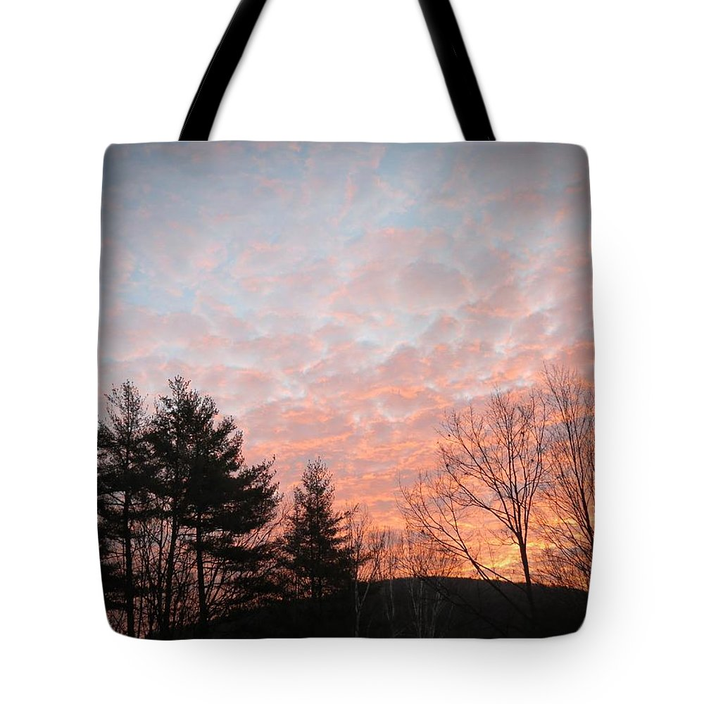 Landscape Tote Bag featuring the photograph Sunrise Mountain by MTBobbins Photography