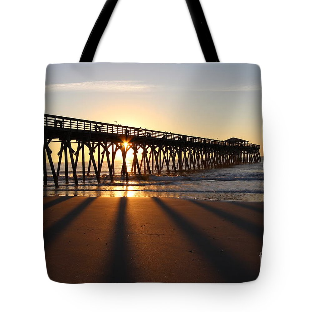 Sc Tote Bag featuring the photograph Sunrise Myrtle Beach State Park by Jeffery Akerson