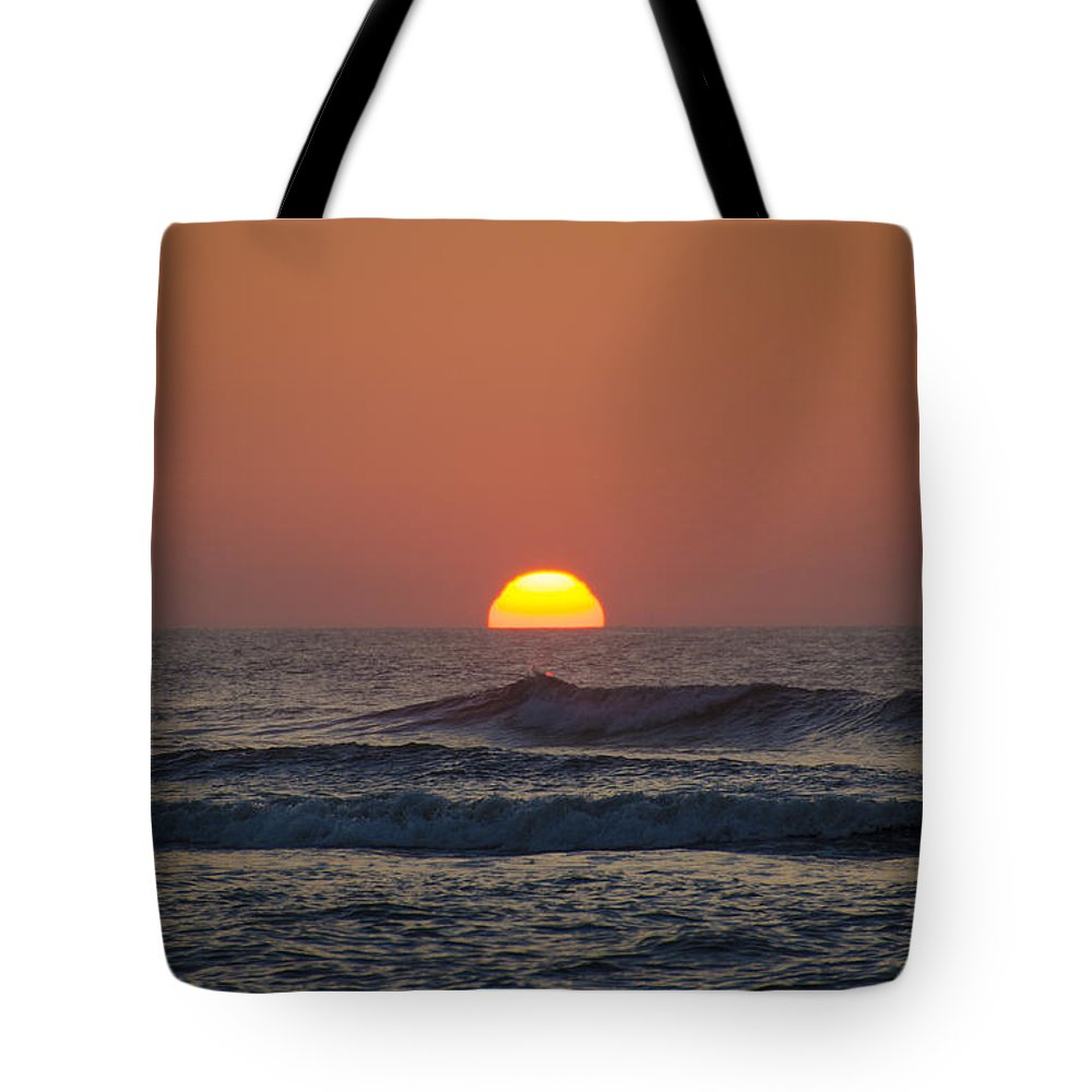 Sunrise Tote Bag featuring the photograph Sunrise - Sunset by Bill Cannon