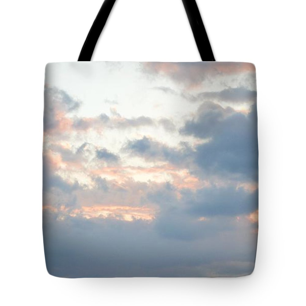Clouds Tote Bag featuring the photograph Suns Out by Thomas Phillips