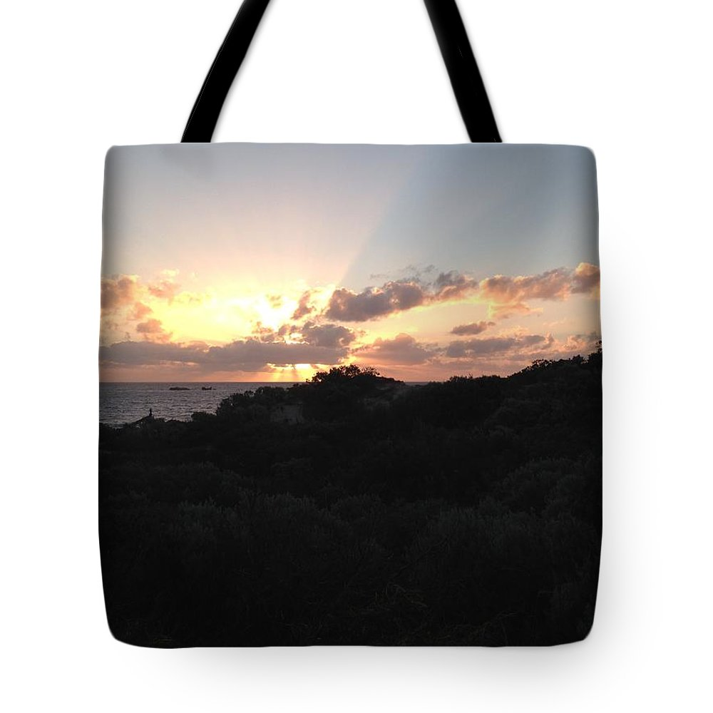Sun Tote Bag featuring the photograph Sunset Dream by Gary Lester