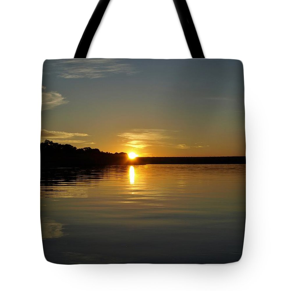Africa Tote Bag featuring the photograph Sunset On The Zambezi 2 by William Morgan