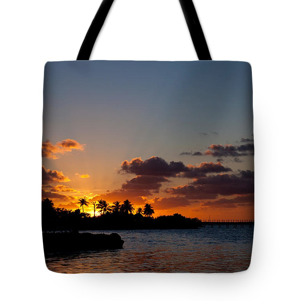 Sunset Song Tote Bag featuring the photograph Sunset Song by Michelle Wiarda-Constantine