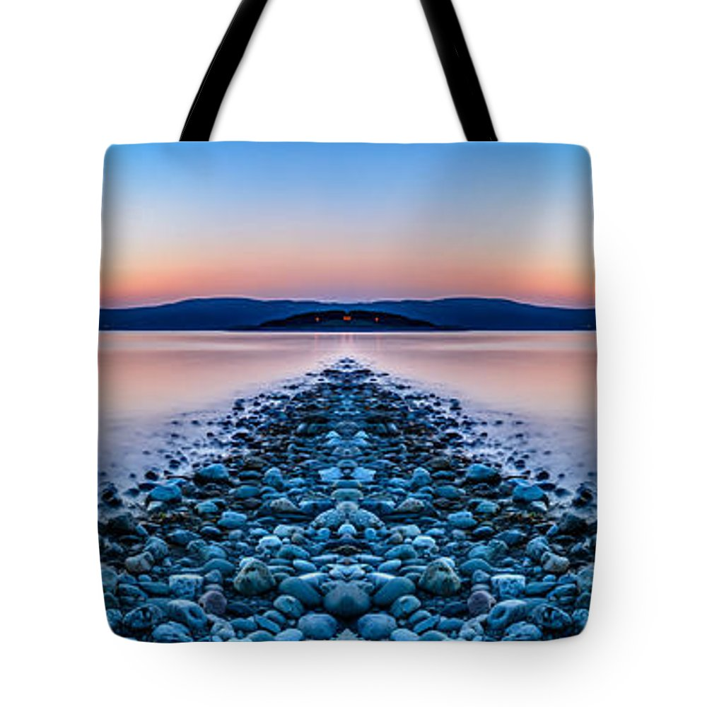 Hdr Tote Bag featuring the photograph Sunset Way by Adrian Evans