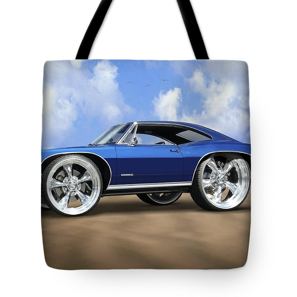 Chevy Tote Bag featuring the photograph Super Big Wheels by Mike McGlothlen
