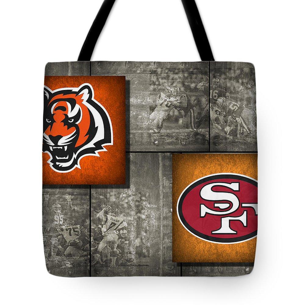 Bengals Tote Bag featuring the photograph Super Bowl 23 by Joe Hamilton