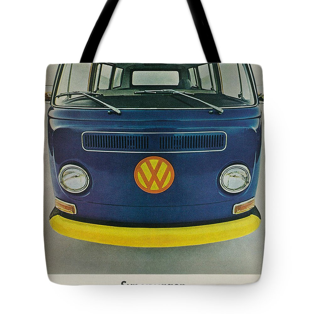 Superwagon Tote Bag featuring the digital art Superwagon by Georgia Fowler