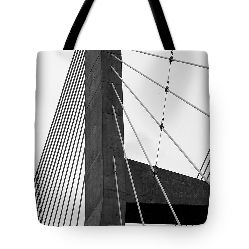 Bridge Tote Bag featuring the photograph Supporting Role by Jane Eleanor Nicholas