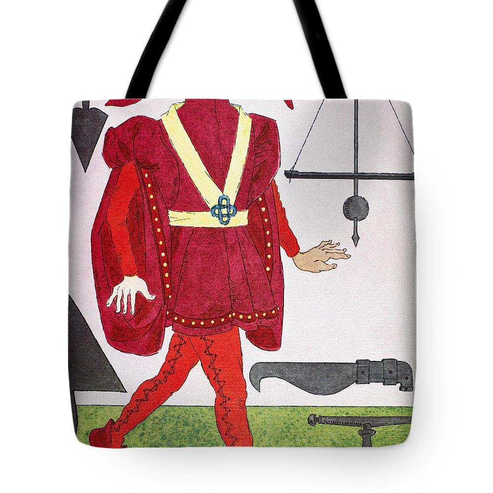 14th Century Tote Bag featuring the photograph Surgeon, 14th Century by Granger
