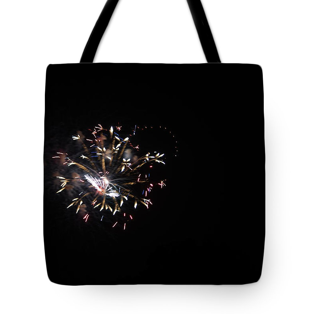 Fireworks Tote Bag featuring the photograph Surprise by Edward Hawkins II