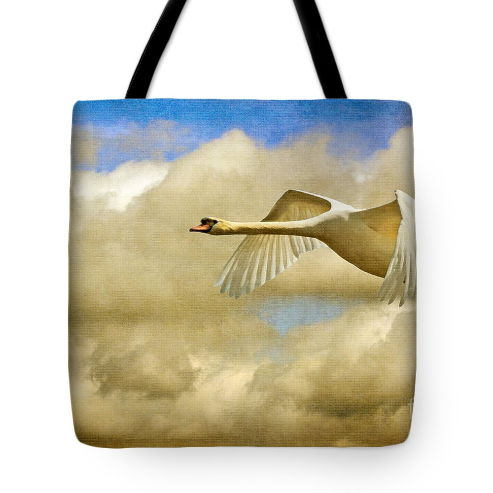 Swan Song Photographs Tote Bags