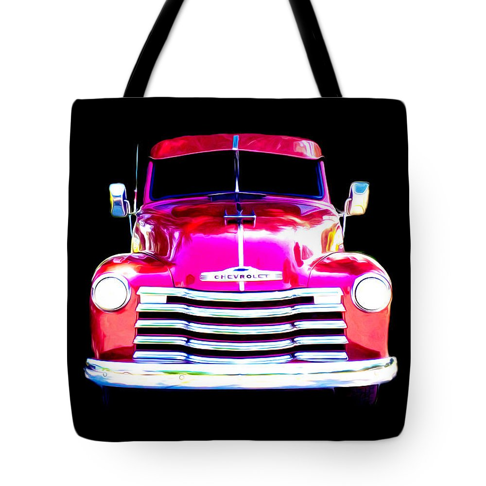 Abstract Tote Bag featuring the photograph Sweet Cherry-et by Becky Bunting