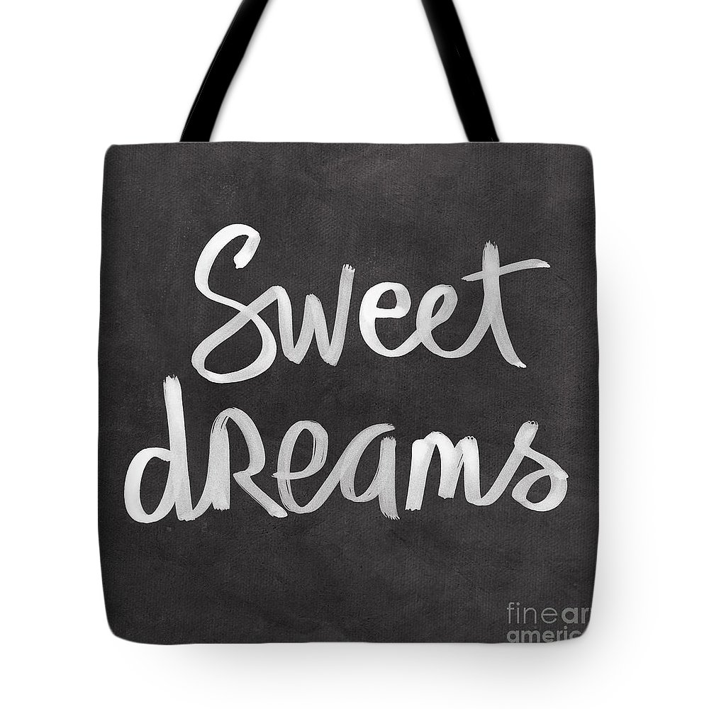 Dreams Tote Bag featuring the mixed media Sweet Dreams by Linda Woods
