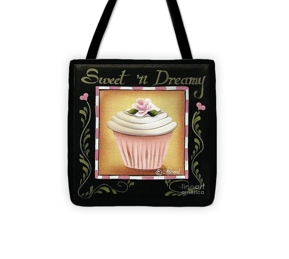 Art Tote Bag featuring the painting Sweet 'n Dreamy by Catherine Holman
