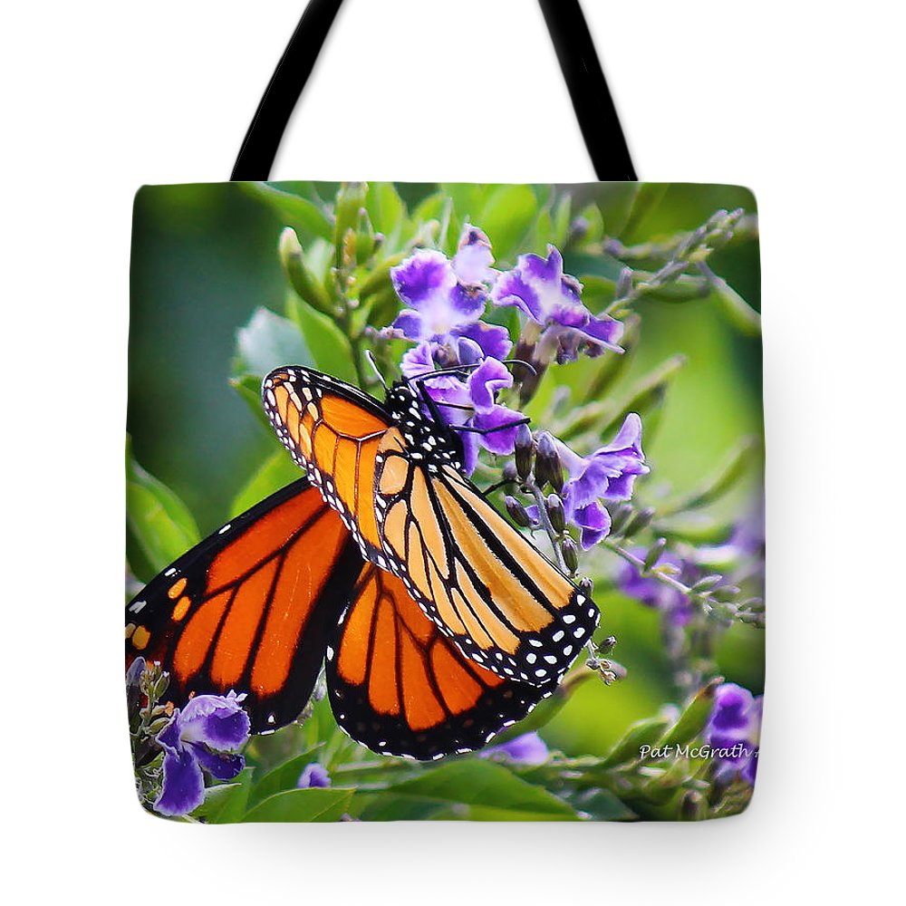 Butterfly Tote Bag featuring the photograph Sweet Nectar by Pat McGrath Avery