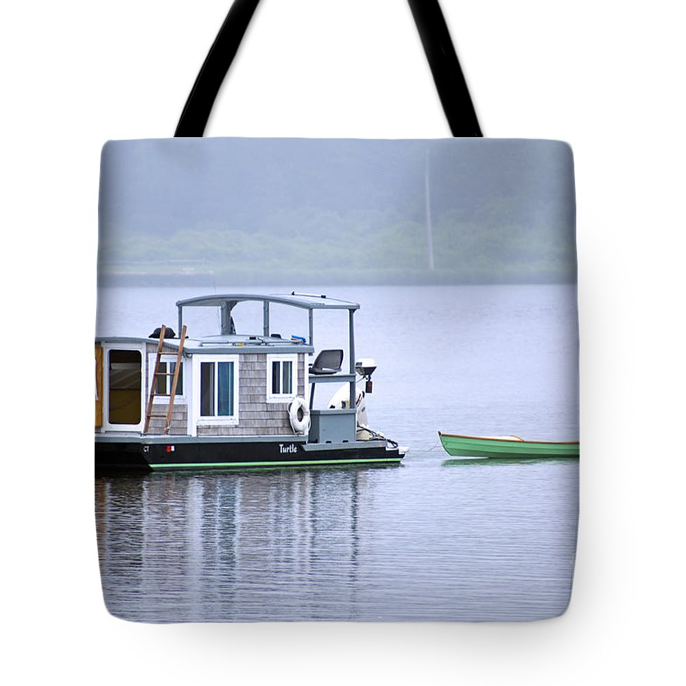 Boat Tote Bag featuring the photograph Sweet Summer Shack by Joe Geraci