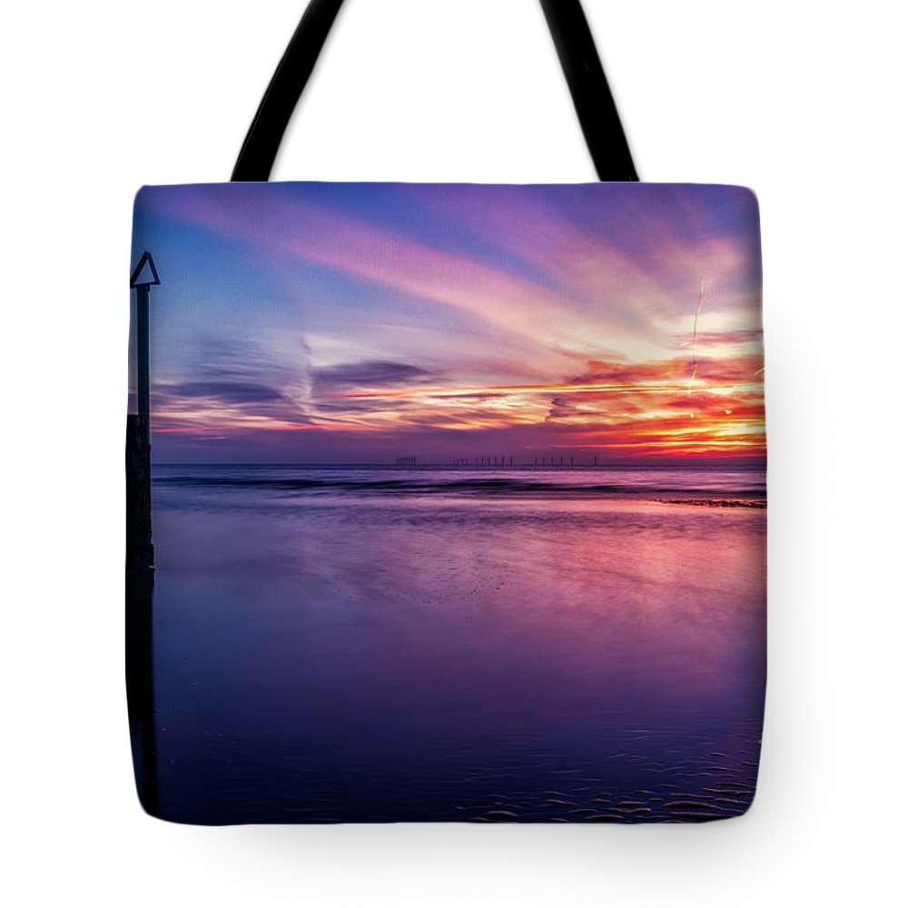 Sunset Tote Bag featuring the photograph Sweet Sunset by Adrian Evans