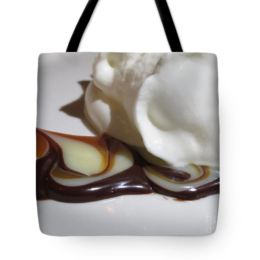 Food Tote Bag featuring the photograph Sweet Swirl by Arlene Carmel