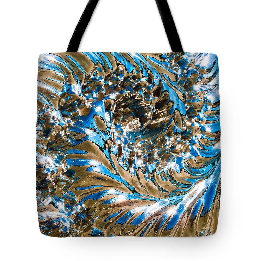 Swirly Tote Bag featuring the photograph Swirly Mirror by Hakon Soreide