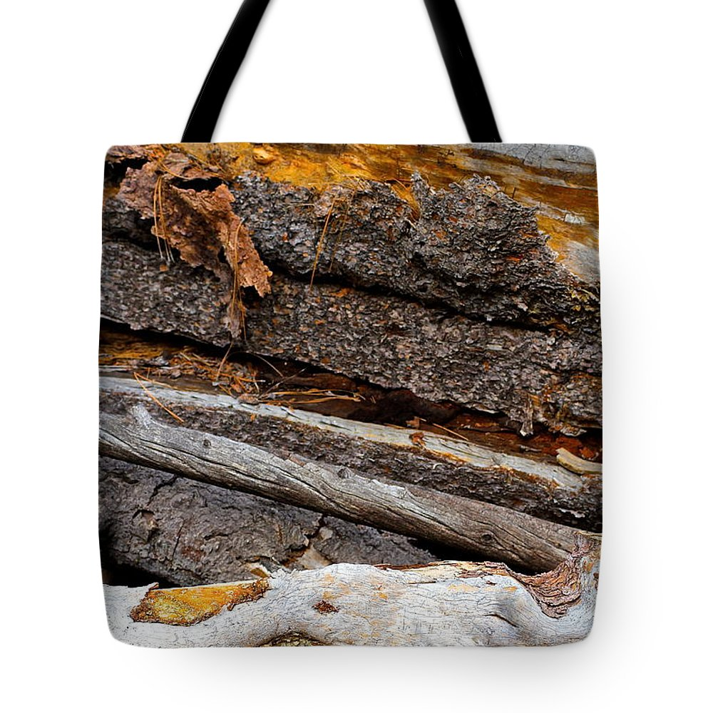 Tree Bark Tote Bag featuring the photograph Switchback by Suzanne Oesterling